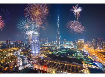 Нова година во Дубаи
